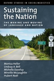 Couverture livre Sustaining the Nation Monica Heller